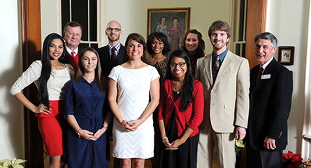 Fall 2013 Outstanding Graduates recognized | University of