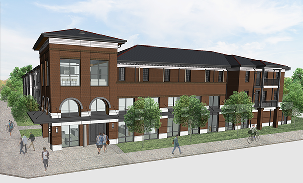 Construction To Expand University Housing Add Retail Space To