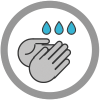 icon of handwashing