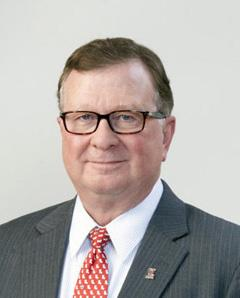 Head shot of University of Louisiana at Lafayette President Joseph Savoie