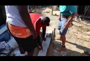 Ragin' Cajuns Volunteer with Habitat for Humanity